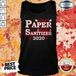 Premium Toilet Paper Hand Sanitizer 2020 Tank Top