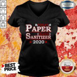 Premium Toilet Paper Hand Sanitizer 2020 V-neck