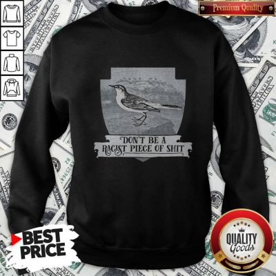 Pretty Don't Be A Racist Piece Of Shit Sweatshirt