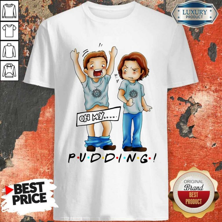 Pretty Sam And Dean Winchester On My Pudding Shirt