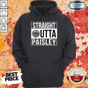 Pretty Straight Outta Paisley Hoodie