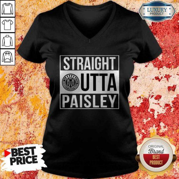 Pretty Straight Outta Paisley V-neck