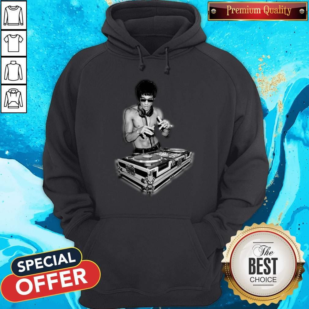 Top DJ Bruce Lee Hoodie