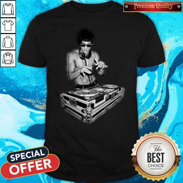 Top DJ Bruce Lee Shirt