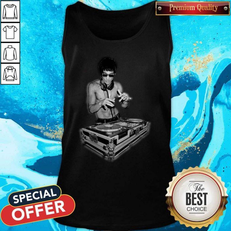 Top DJ Bruce Lee Tank Top