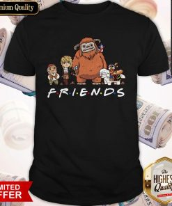 Top Labyrinth Friends Funny Characters Worm Ludo Hoggle Shirt