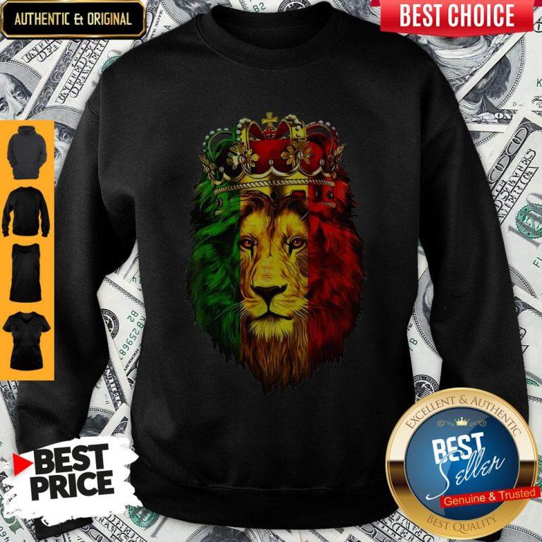 Top Lion King African American Sweatshirt