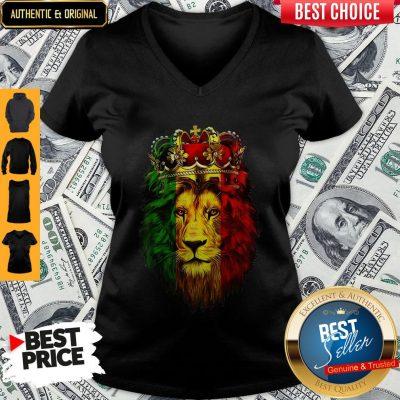 Top Lion King African American V-neck
