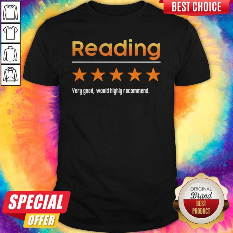 Top Reading Very Bad Would Not Recommend Shirt