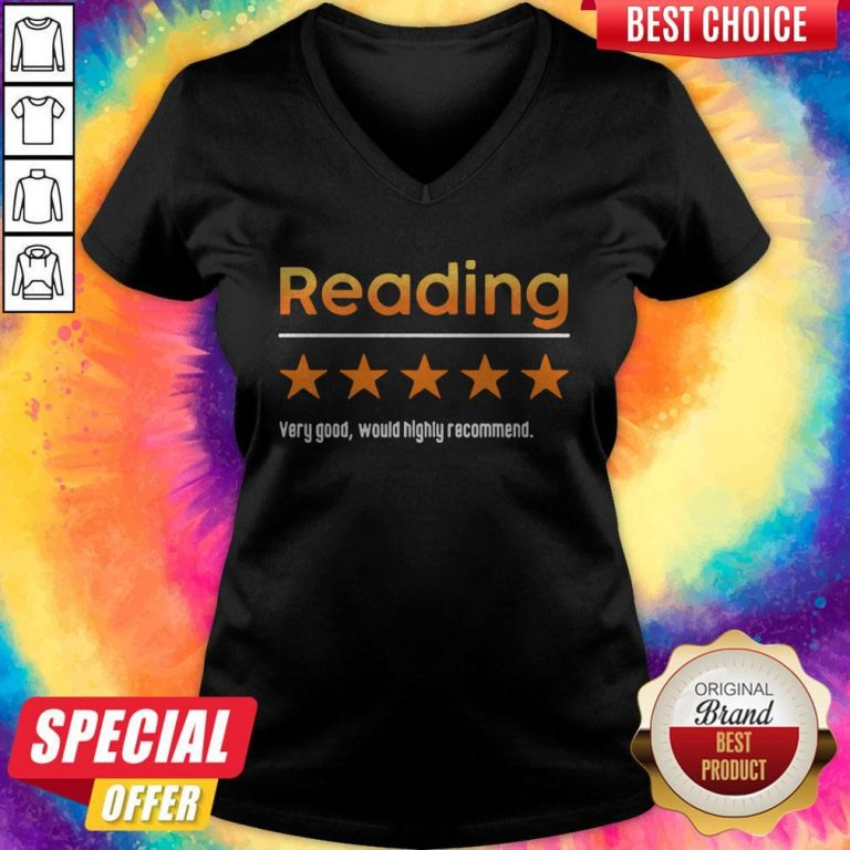 Top Reading Very Bad Would Not Recommend V-neck