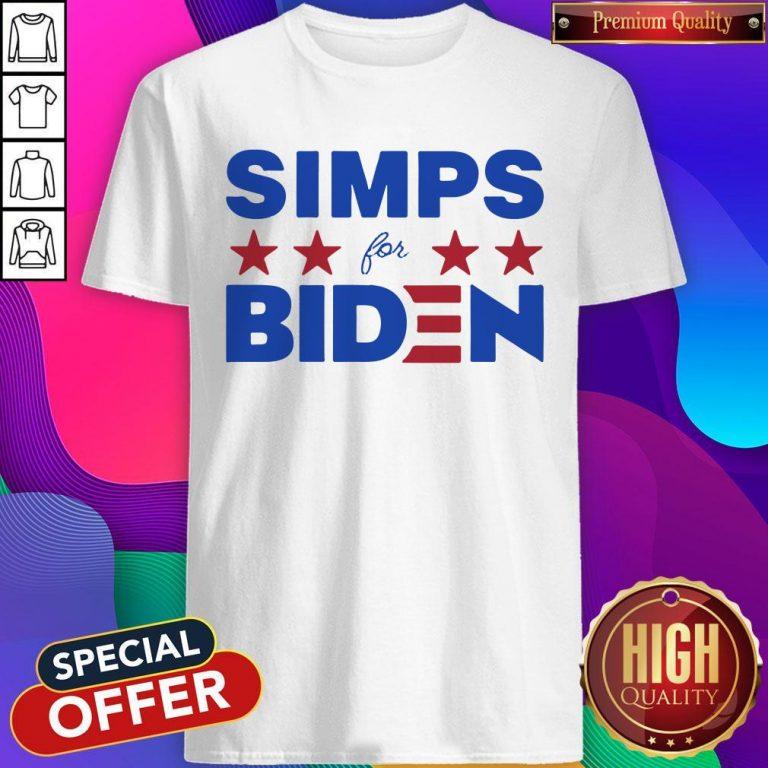 Top Simps For Biden 2020 Shirt
