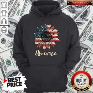 Top Sunflower America Happy Independence Day Hoodie