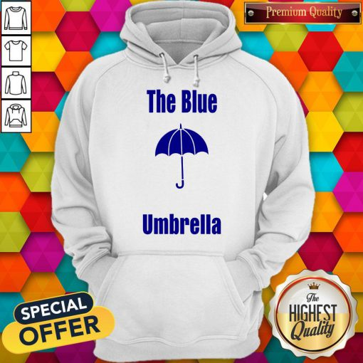 Top The Blue Umbrella Hoodie