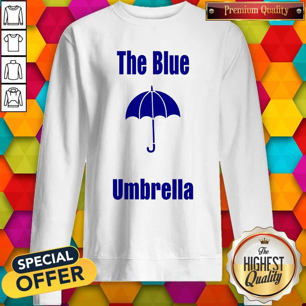 Top The Blue Umbrella Sweatshirt