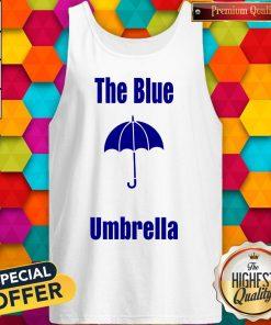 Top The Blue Umbrella Tank Top