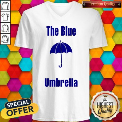 Top The Blue Umbrella V-neck