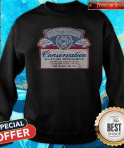 Awesome Conservative Never Sorry For Being Right Sweatshirt