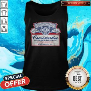 Awesome Conservative Never Sorry For Being Right Tank Top