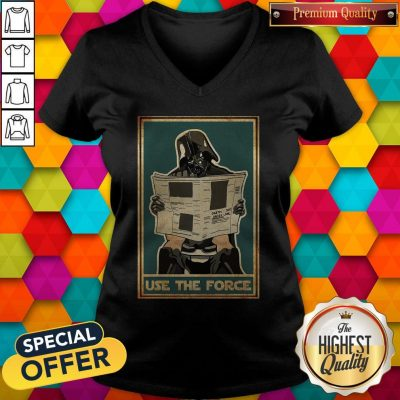 Awesome Darth Vader Use The Force V-neck