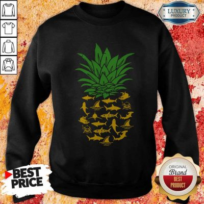 Funny Shark Pineapple Sweatshirt