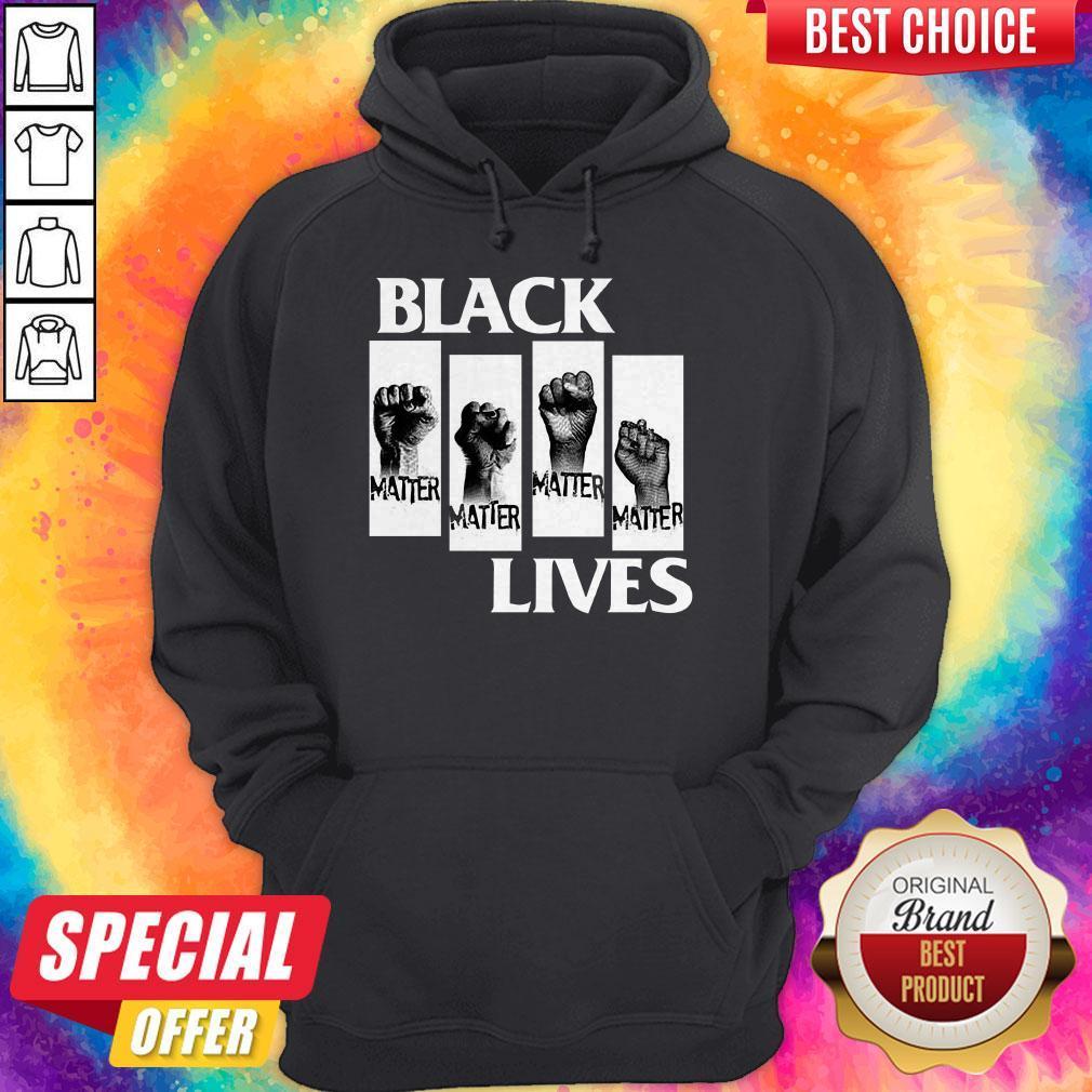 Good Black Lives Movement BLM George Floyd Protests Tee Hoodie