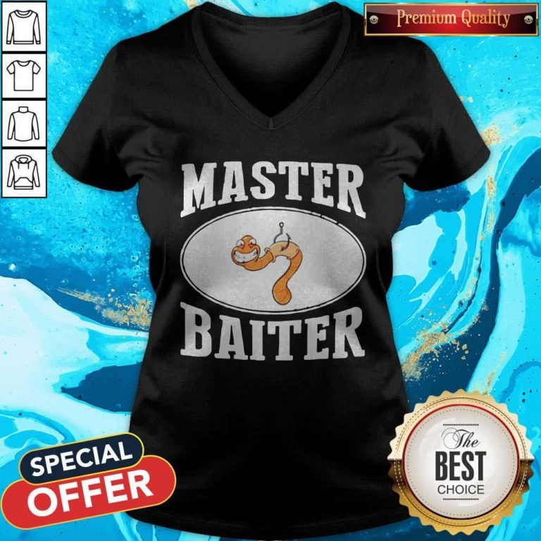 Good Fishing Master Baiter V-neck