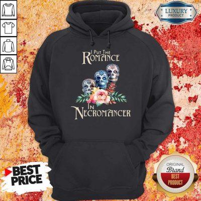 Good Necromancer Halloween Undead Skulls And Roses Hoodie