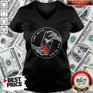 Good Time Waits For No One V-neck