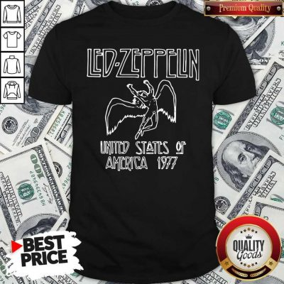 Nice Led Zeppelin United States Of America 1977 Shirt