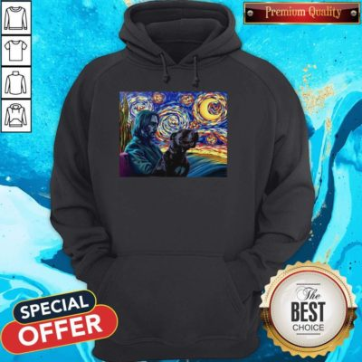 Official John Wick With Dog Art Hoodie- Design By Earstees.com