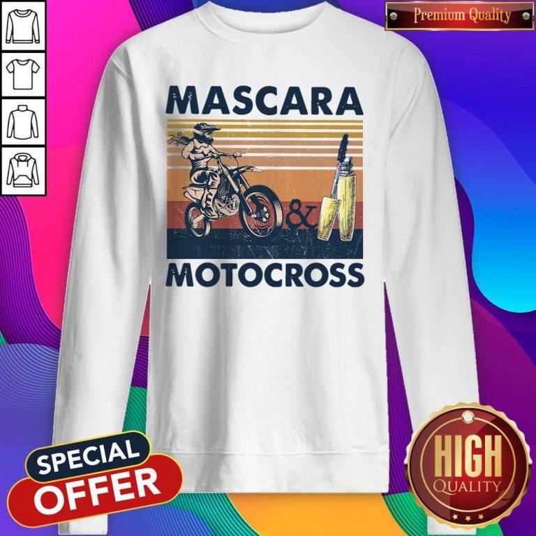 Official Mascara Motocross Sweatshirt