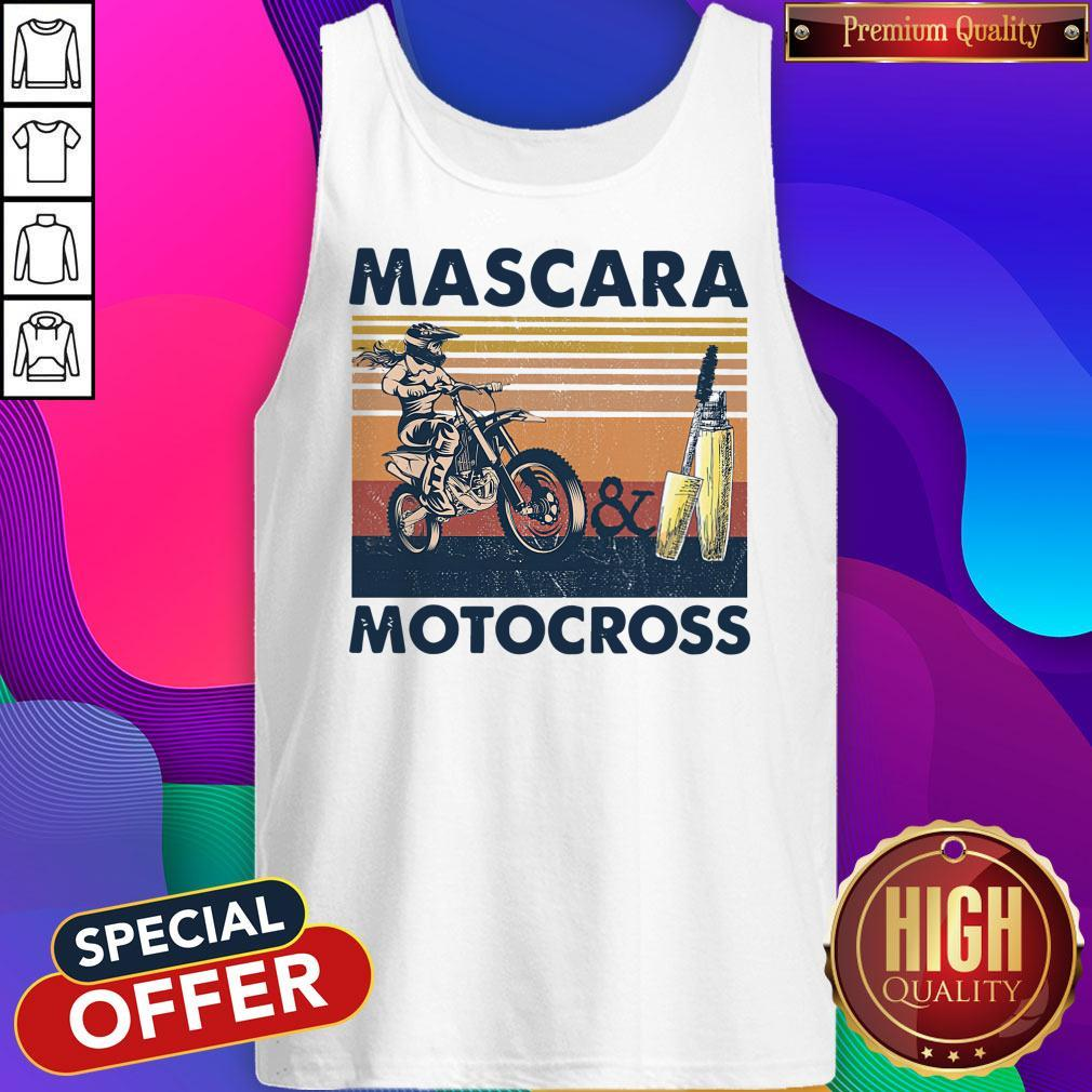 Official Mascara Motocross Tank Top
