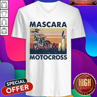 Official Mascara Motocross V-neck