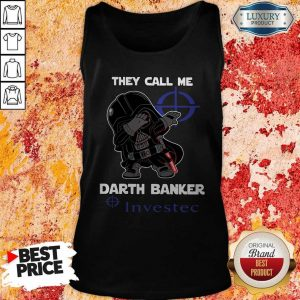 Official Star War Darth Vader They Call Me Darth Banker Investec Tank Top