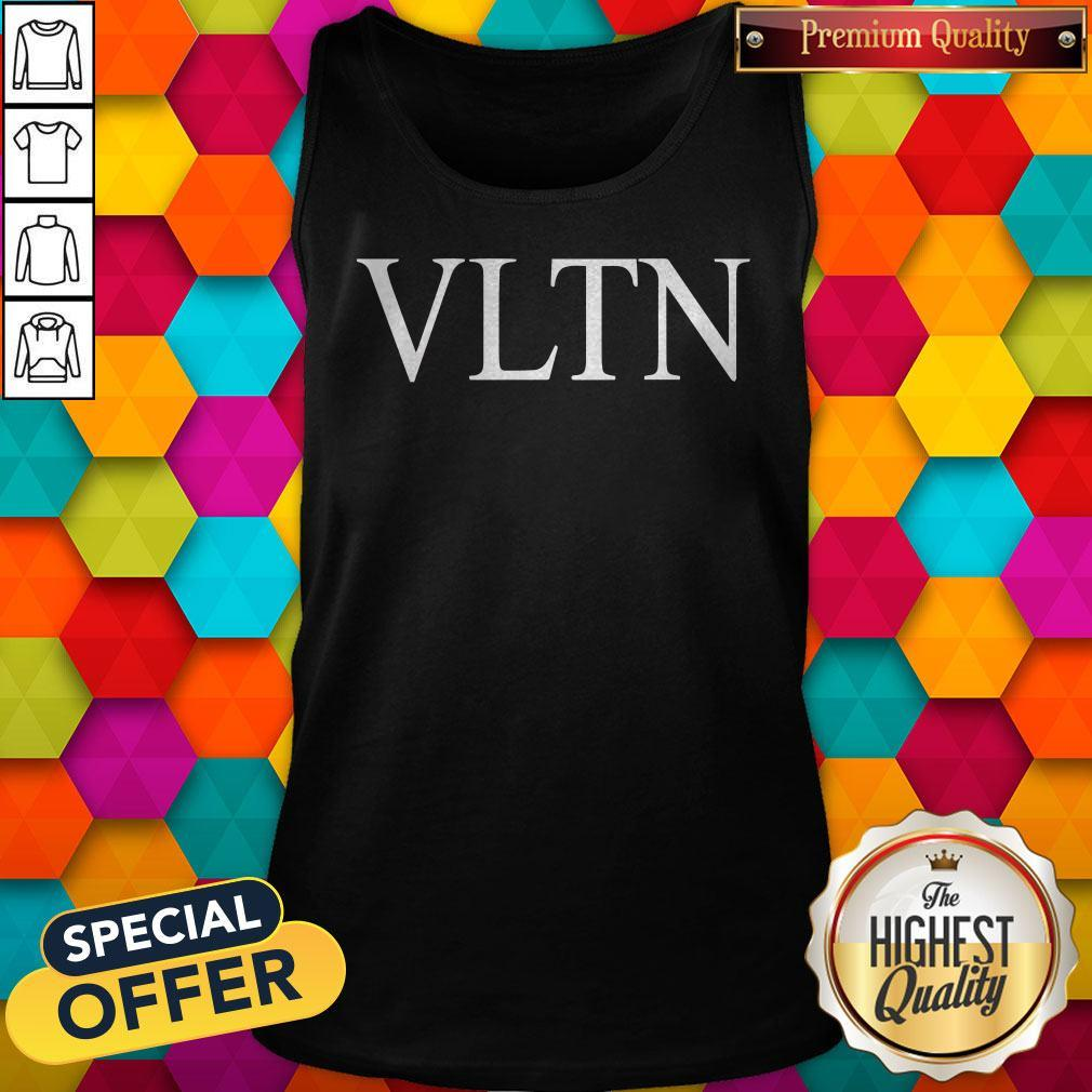 Official Valentino VLTN Black Tank Top