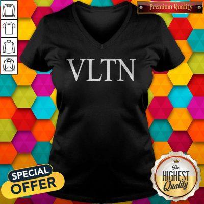 Official Valentino VLTN Black V-neck
