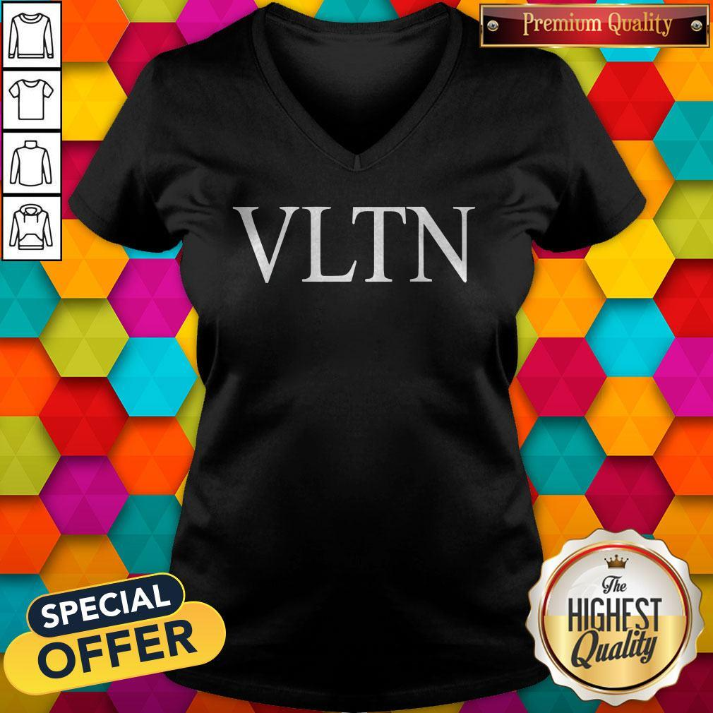 Official Valentino VLTN Black V-neck