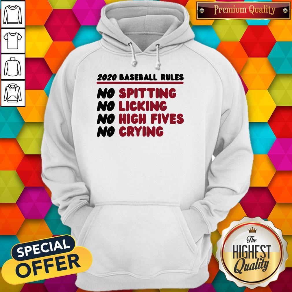 Original 2020 Baseball Rules Hoodie