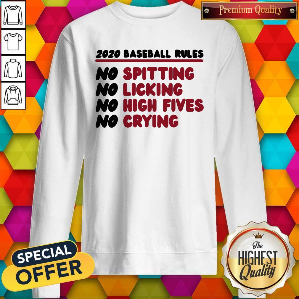 Original 2020 Baseball Rules Sweatshirt