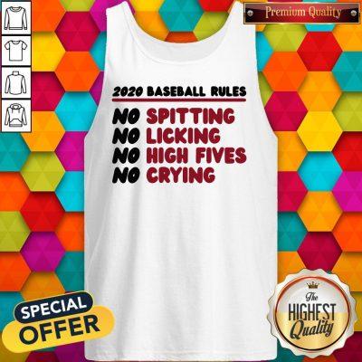 Original 2020 Baseball Rules Tank Top