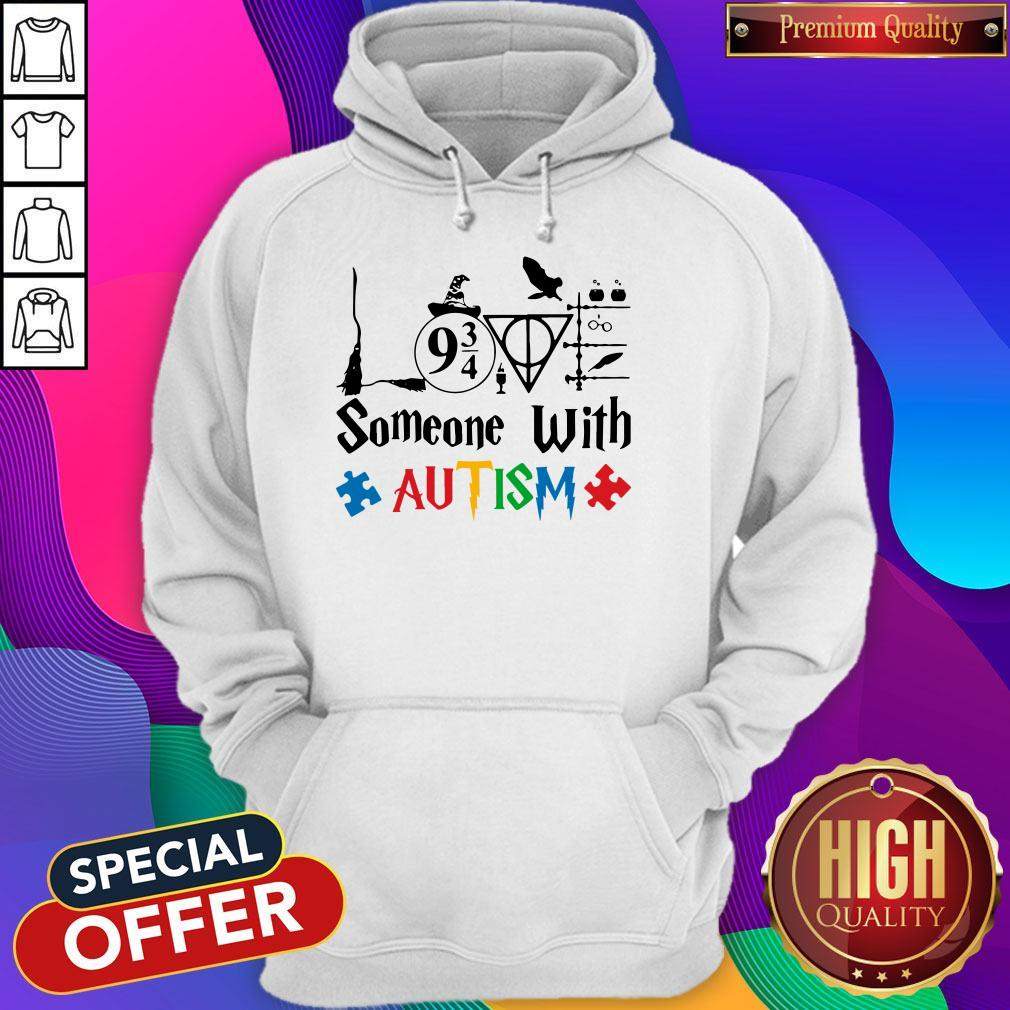 Original Love Someone With Autism Harry Potter Hoodie