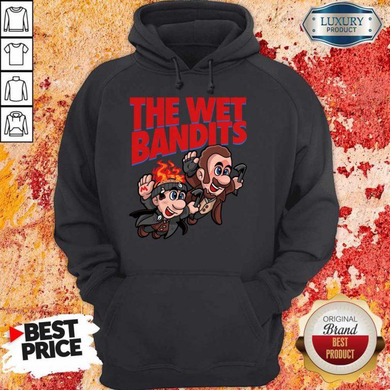 Original The Wet Bandits Home Alone Super Mario Funny Massup Hoodie