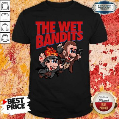Original The Wet Bandits Home Alone Super Mario Funny Massup T-Shirt
