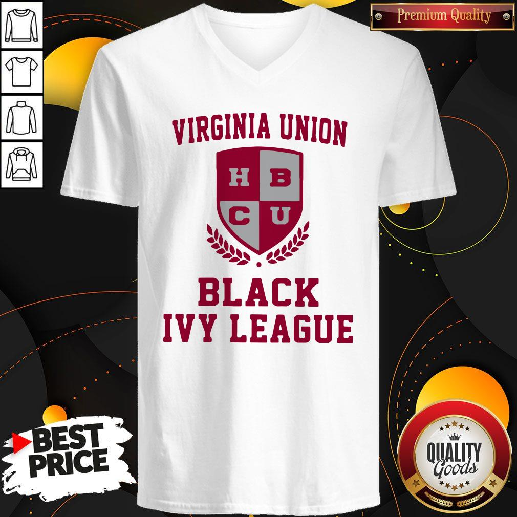 Original Virginia Union Black Ivy League V-neck