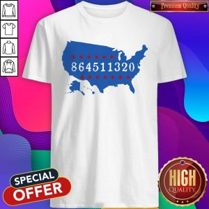 Perfect 864511320 United States Map Shirt
