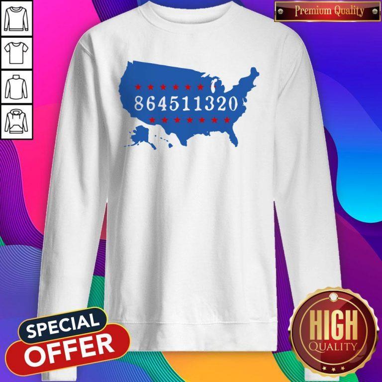 Perfect 864511320 United States Map Sweatshirt