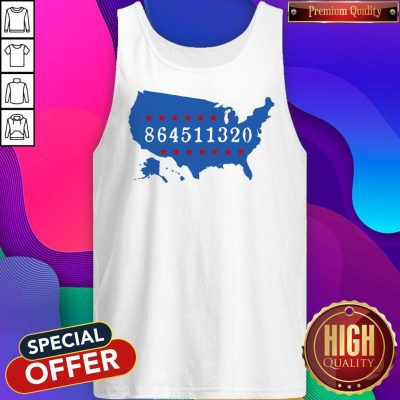 Perfect 864511320 United States Map Tank Top