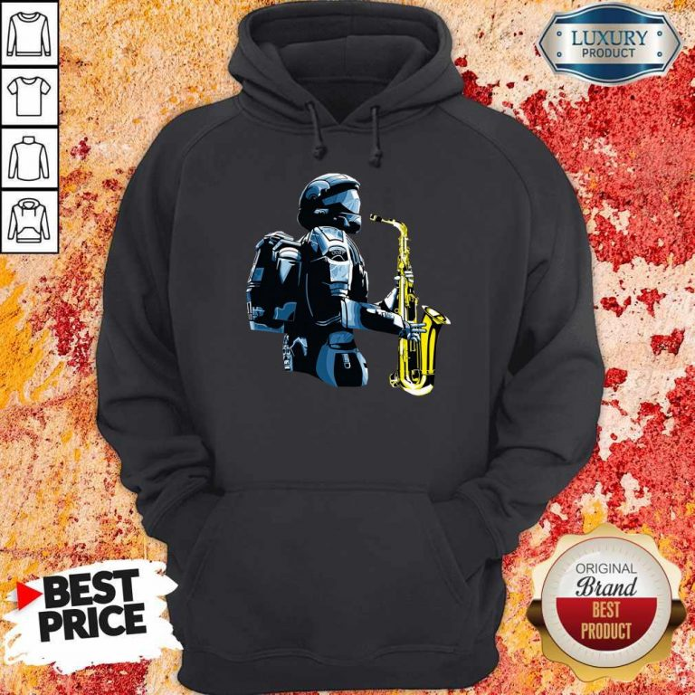 Perfect Halo 3 Odst Saxophone Hoodie