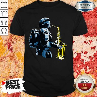 Perfect Halo 3 Odst Saxophone Shirt