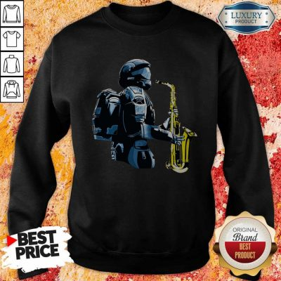 Perfect Halo 3 Odst Saxophone Sweatshirt